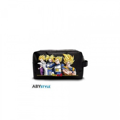Trousse de toilette - Super Saiyans - Dragon Ball Z - 26 x 14 x 8,5 cm