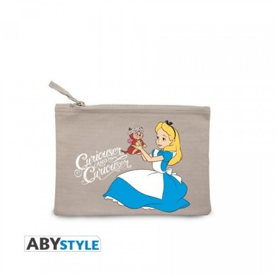 Trousse à maquillage - Alice curiouser - Disney - 22 x 16 x 1 cm