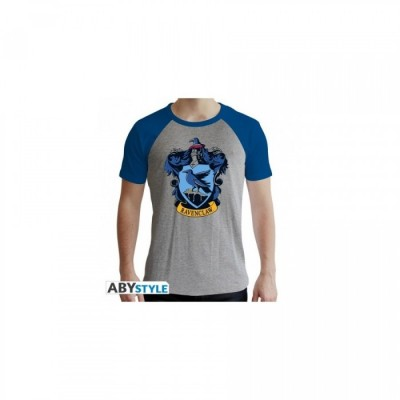 T-shirt Harry Potter - Serdaigle - Gris & Bleu