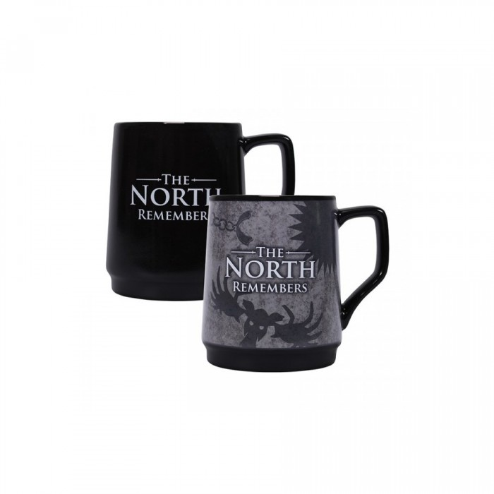 Mug Thermo Reactif - The North Remember - Game of Thrones - 400ml