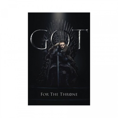 Poster - Jon For The Throne - Game of Throne - 61x91.5cm