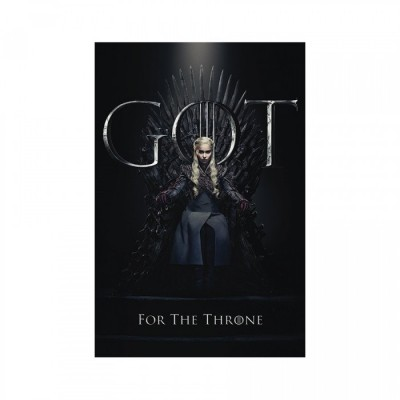 Poster - Daenerys For The Throne - Game of Throne - 61x91.5cm