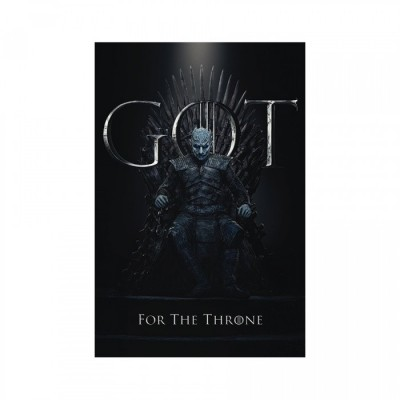 Poster - Night King For The Throne - Game of Throne - 61x91.5cm