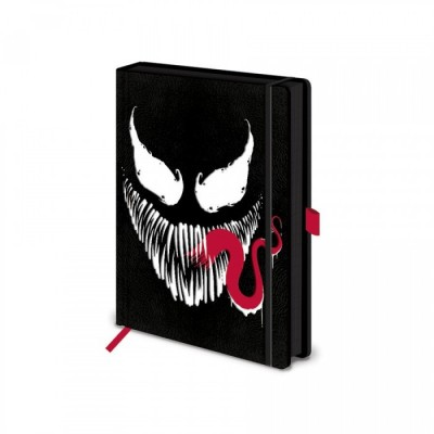 Carnet de Notes - Face - Venom - A5 (21 x 14.9cm)