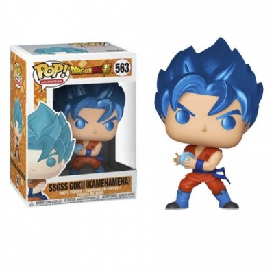 SSGSS Goku (Kamehameha) - Dragon Ball Super (563) - Pop Animation - Exclusive