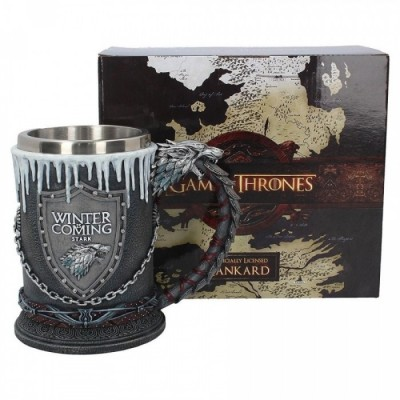 Chope à bière - Stark House - Game of Thrones