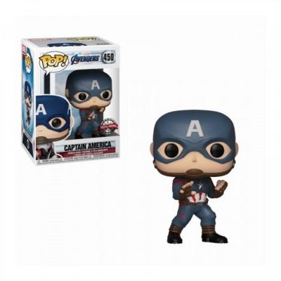 Captain America - Avengers : Endgame (450) - Pop Marvel - Exclusive