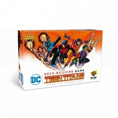Jeu de Plateau - DC Comics Deck-building Game - Teen Titans