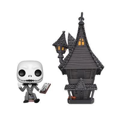 Jack w/ Jack's House - Nightmare Before (07) - POP Town - Oversize