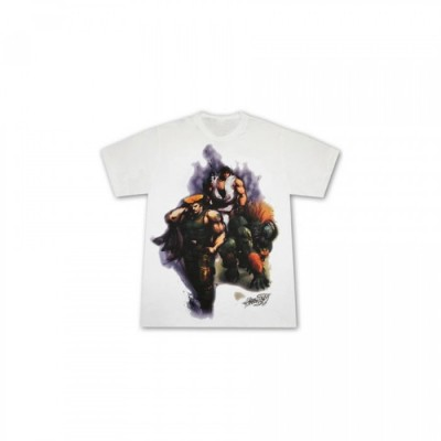 Street Fighter IV - T-shirt Blanka Guile Ryu