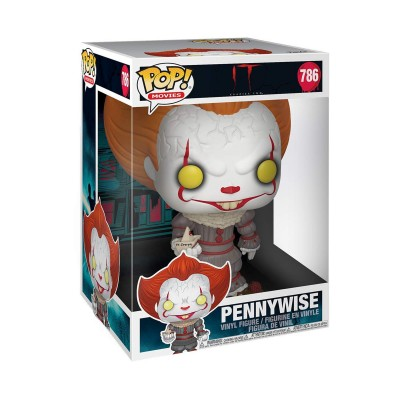 Pennywise w/ Boat - IT Chapiter 2 (786) POP Movies - Super Oversize 10' - Exclusive