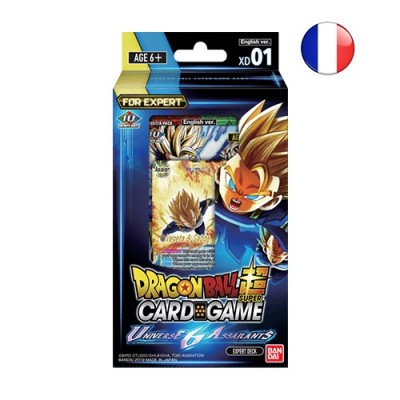 JCC - Expert Deck - XD01 - Dragon Ball Super Serie 7 (FR) x6
