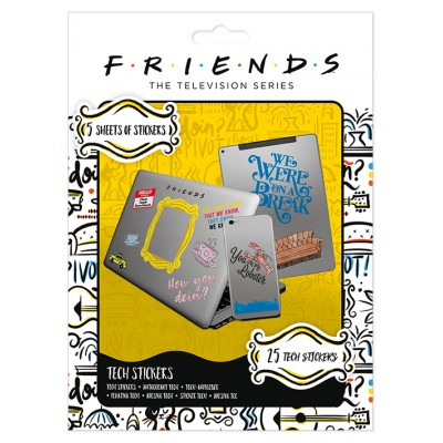 Set Stickers - Friends - How You Doin'