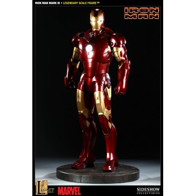 Iron Man Mark III - Iron Man - Statue taille 1:2