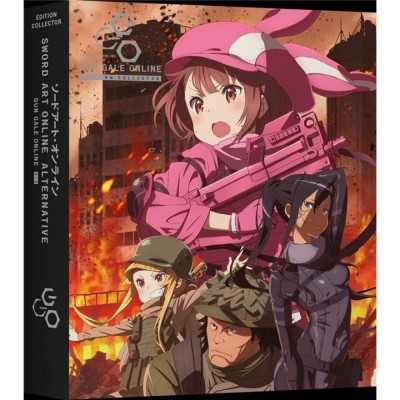 Sword Art Online Alternative Gun Gale Online - Part 2/2 - Edition Collector DVD - VOSTFR + VF