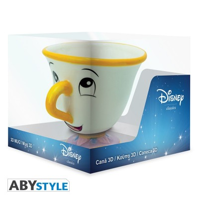 Mug 3D - La Belle et la Bête / Disney - Zip - 250ml