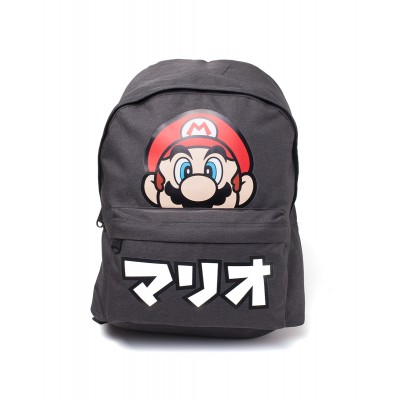 Sac à dos - Super Mario - Mario + Japanese text