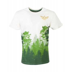 T-shirt - Zelda - Hyrule Forrest - Men- L