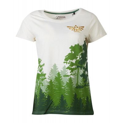 T-shirt - Zelda - Hyrule Forrest - Women - M