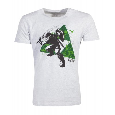 T-shirt - Zelda - Splatter Triforce - Men - S