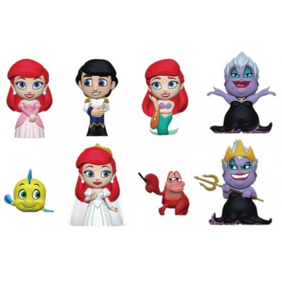Little Mermaid - Vinil Fgure (Blindbox 12 figs pack)