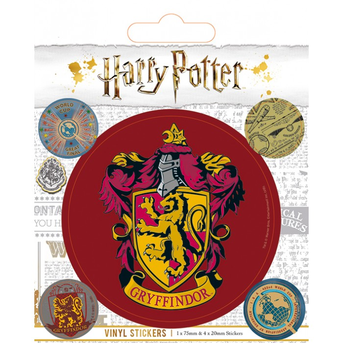 Sticker - Harry Potter - Gryffondor (Gryffindor)