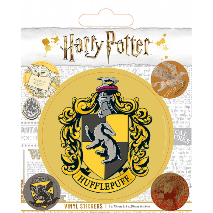 Sticker - Harry Potter - Poufsouffle (Hufflepuff)