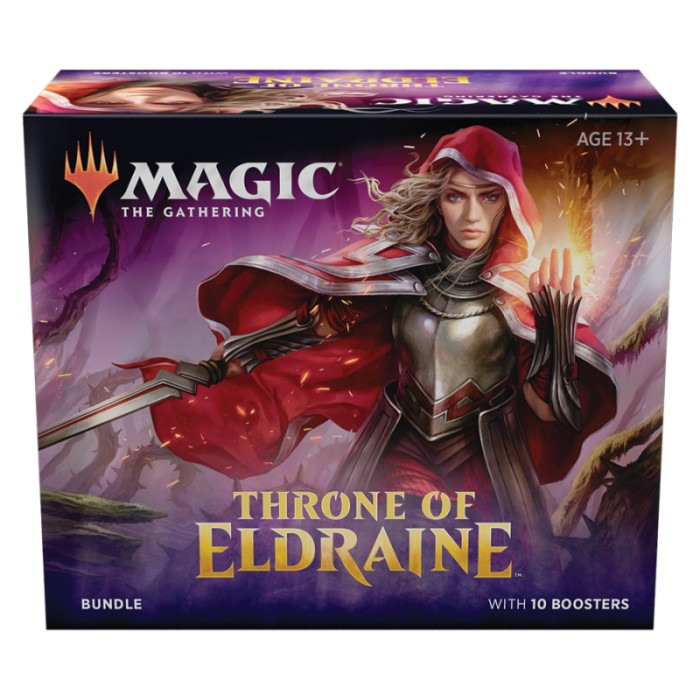 MTG - Bundle - Throne of Eldraine (EN) x1