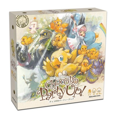 Final Fantasy - Chocobo Party Up - Jeu de plateau