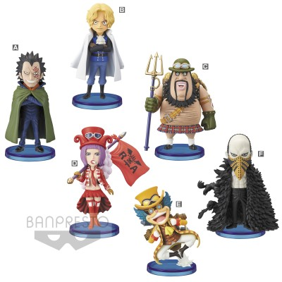 One Piece WCF - World Collectable Figure - Revolution Army - 7 cm (vendu par 8)