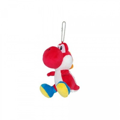 Yoshi Peluche porte-clef rouge - S - 2012 - 4905330811158