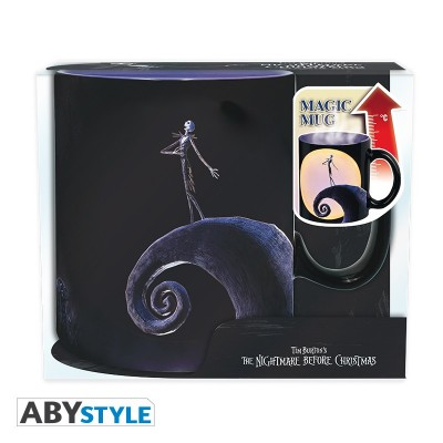 Mug - Nightmare Before Christmas - Thermo Réactif - Jack Moon - 460ml
