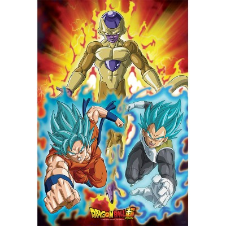 "Dragon Ball Super - Poster ""Golden Freezer"" roulé filmé (91,5x61)"