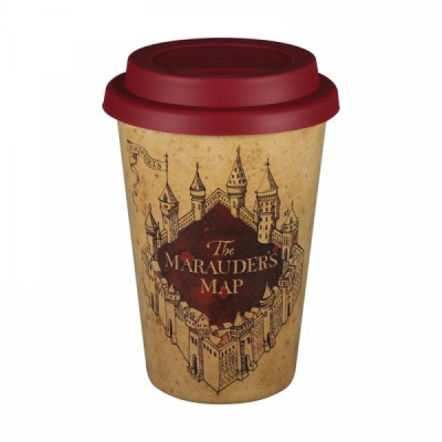 Mug de voyage - Harry Potter - Carte du Marauder - 400ml