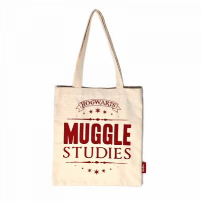 Sac en toile - Muggle Studies - Harry Potter - 33 (w) x 67.5 (h) x 1 (d)