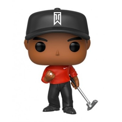 Tiger Woods (Red Shirt) - (xxx) - POP Sport
