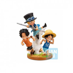 One Piece - Ichibansho Figure - The Bonds of Brothers - 12cm