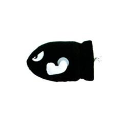 T-shirt Lapins Crétins - Love Lapin Femme noir - L