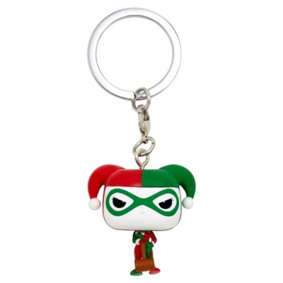 Harley Quinn (Holiday) - Pocket POP Keychain