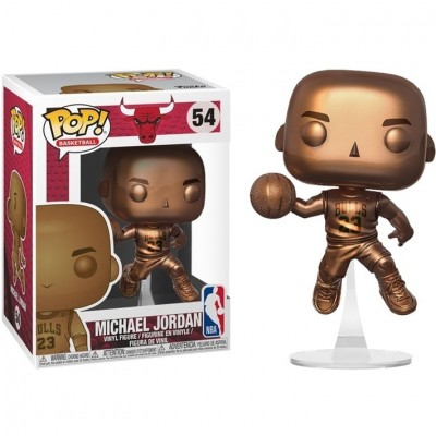 Michael Jordan (Bronzed) - NBA (54) - Pop NBA - Exclusive