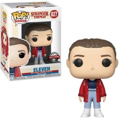 Eleven with Slicker - Stranger Things (827) - Pop Television - Exclusive