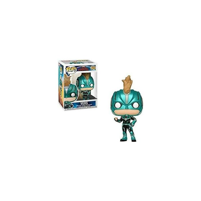 Vers w/helmet - Captain Marvel (434) - Pop Marvel - Exclusive