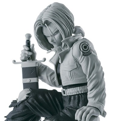 Dragon Ball Z - Future Trunks (gris) - BWFC - 13cm