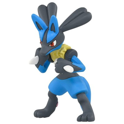Pokemon - Figurine PVC Lucario - MS-10 (4cm)