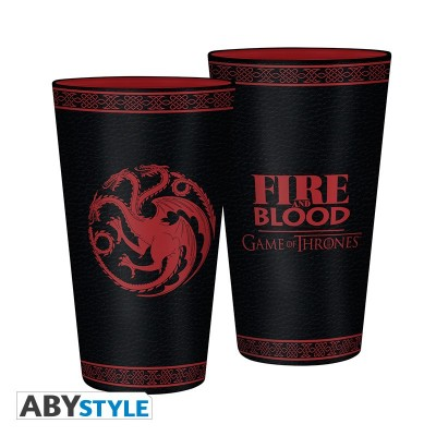 Verre XXL - Targaryen - Game of Thornes - 460ml