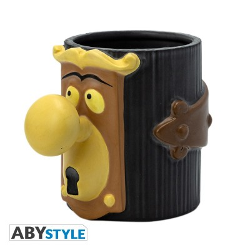 La poignée de porte - Alice au pays des Merveilles - Mug 3D - 300ml