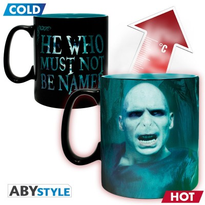 Mug - Harry Potter - Thermo Réactif - Voldemort - 460ml