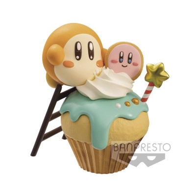 Kirby with Cupcake - Kirby - Paldolce Collection - 6cm
