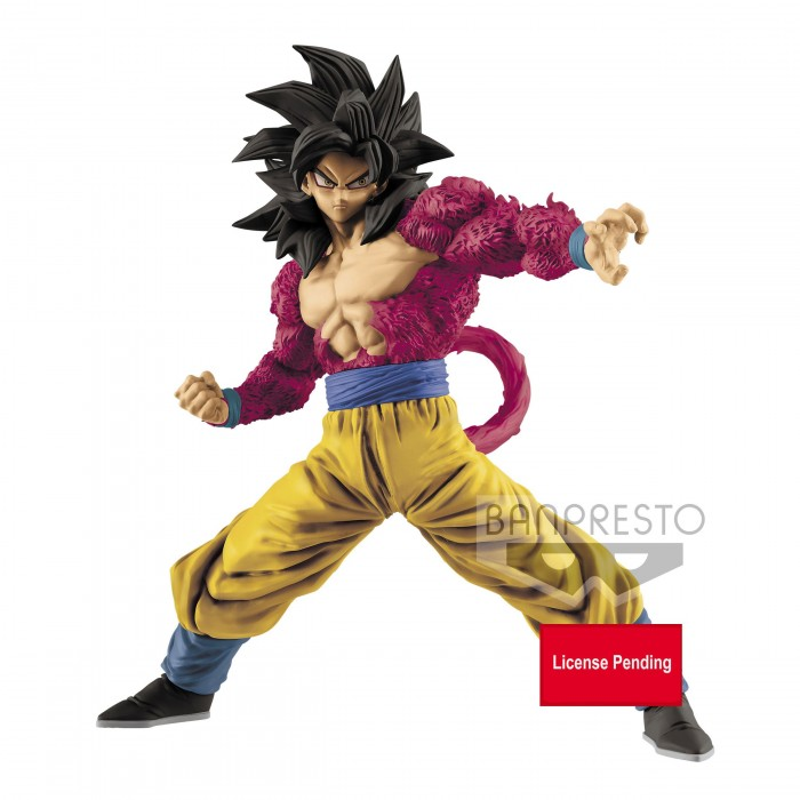 Son Goku Super Saiyan 4 - Dragon Ball - Full Scratch - 18cm