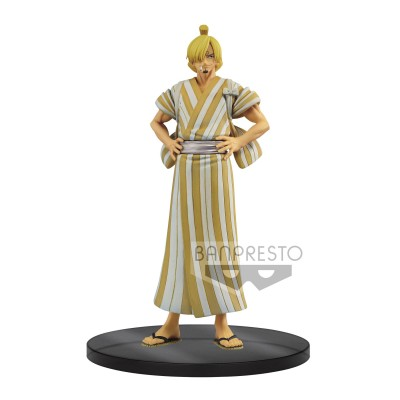 Sanji - One Piece - Grandline Men - DXF Wanokuni vol.5 - 17cm
